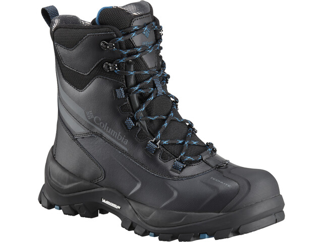 Columbia Bugaboot Plus IV Omni-Heat Saappaat Miehet, black/phoenix blue